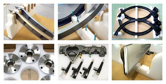 自動車製造に関わるあらゆる部品の搬送をサポート