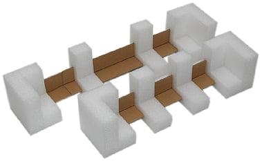 L型収縮緩衝材