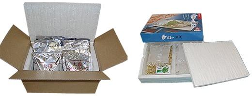 冷凍食品保冷箱